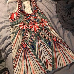 Parker sequined cocktail dress